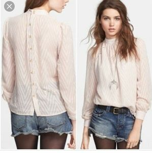 After midnight Free People blouse